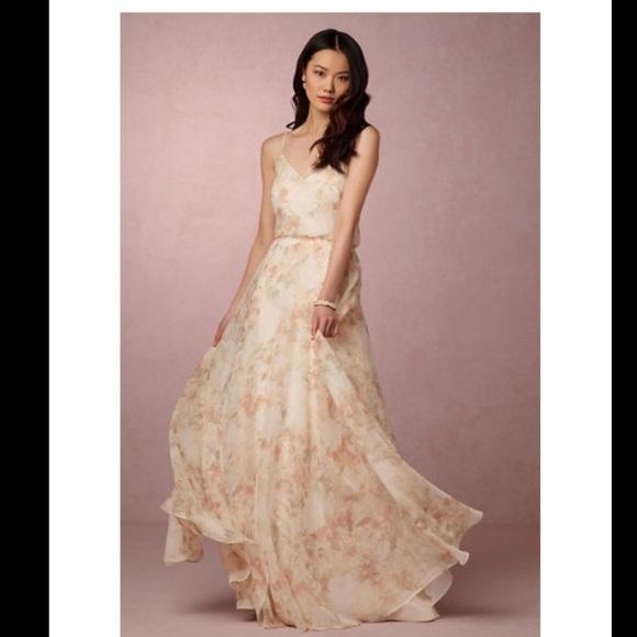 fb71d22995af Jenny Yoo Dresses & Skirts - BHLDN Jenny Yoo Blush Peach Floral INESSE dress
